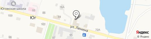 Продовольственный магазин на карте Юга