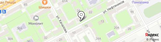 Ириска на карте Перми