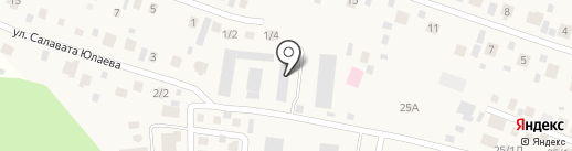 Усадьба на карте Акбердино