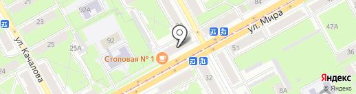 Магазин текстиля на карте Перми