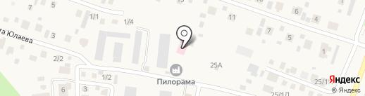 Аэробур на карте Акбердино