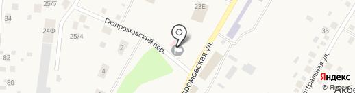 Почтовое отделение с. Акбердино на карте Акбердино