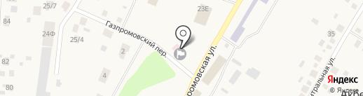Акбердинская сельская библиотека на карте Акбердино