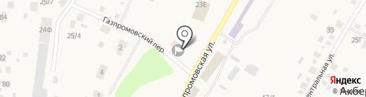 Почтовое отделение на карте Акбердино