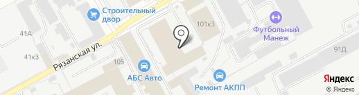 Пермский извозчик на карте Перми