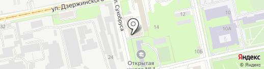 Приволжский центр профессионального обучения на карте Перми