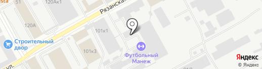 Урал-Авто на карте Перми