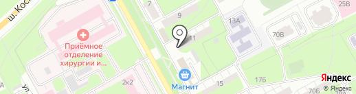 Экосфера на карте Перми