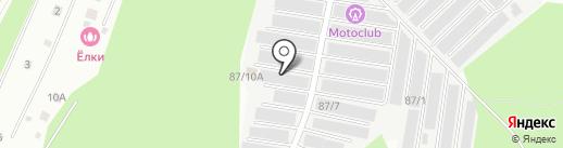 Автомеханик на карте Перми
