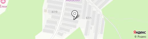 ПГК №94 на карте Перми