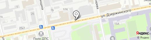 Сапфир на карте Перми