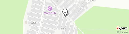 Магазин автозапчастей на карте Перми