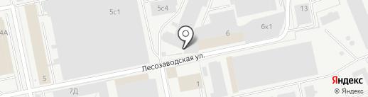 Уралгидропром на карте Перми