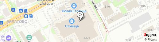 La veranda на карте Перми