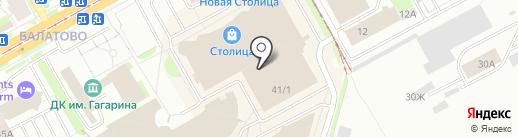 Нефрит на карте Перми