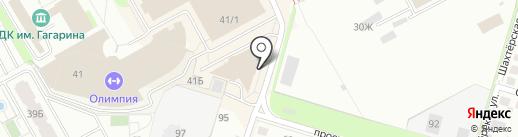 Заря на карте Перми