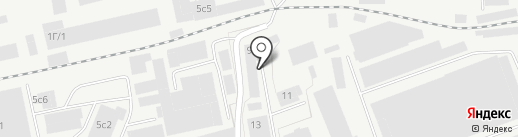 Партсап на карте Перми