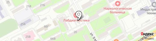 ПИНГ-ПОНГ на карте Перми