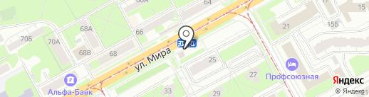Шаверма House на карте Перми