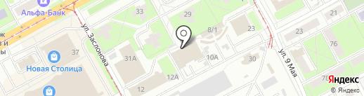 Магазин мяса на карте Перми