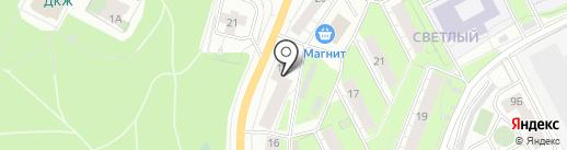 РОЛЬФ на карте Перми