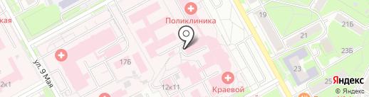 Пермский краевой онкологический диспансер на карте Перми