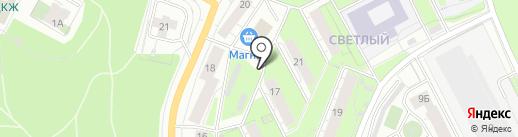 Фастфуд-кафе на карте Перми