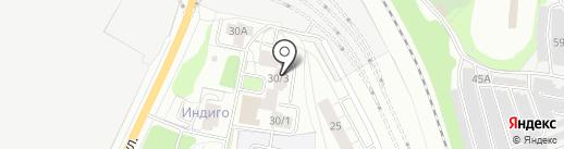 ВК БРИЗ на карте Перми