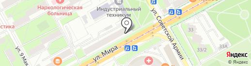 Совкомбанк, ПАО на карте Перми