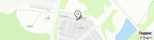 Движок на карте Перми