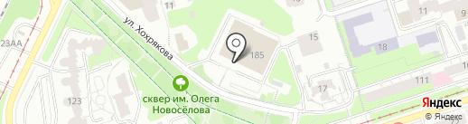 Балет Евгения Панфилова на карте Перми