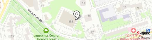Ad hoc на карте Перми