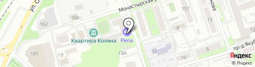 Дом грузчика на карте Перми