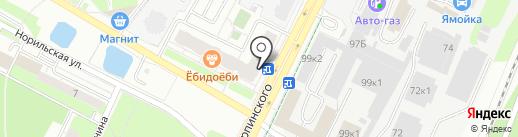 МедЛабЭкспресс на карте Перми