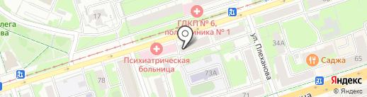 АТЛАС ПЕРМЬ на карте Перми