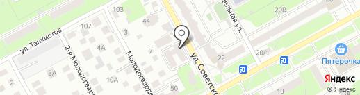Магазин печатной продукции на карте Перми