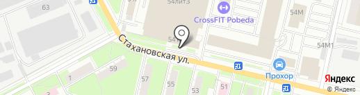 ИОЛЛА на карте Перми