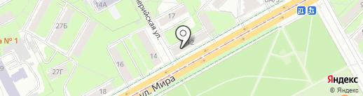 Amigo на карте Перми