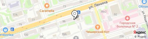 Ленина, 96, ТСЖ на карте Перми