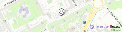 Магазин детской одежды и обуви на карте Перми