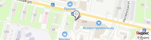 ПермАвтоСтекло на карте Перми