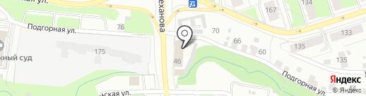 МЫТУТ на карте Перми