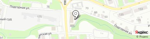 A DE JURE на карте Перми