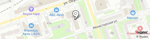 КОНСАЛТ-ЦЕНТР на карте Перми