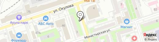 Пивная кружка на карте Перми
