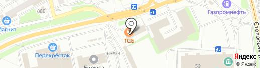 Градиент на карте Перми