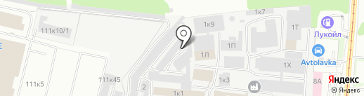 Маршруточка на карте Перми