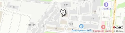 Игромир на карте Перми