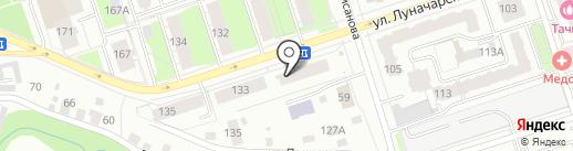 Азимут на карте Перми