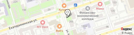 Авангард-торг на карте Перми